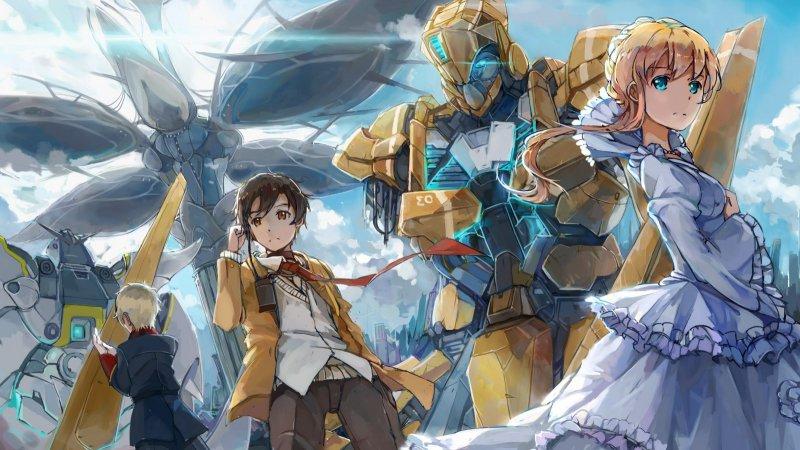 Meka - Animes de Robôs Gigantes - Origem e Curiosidades - aldnoah zero meka 6