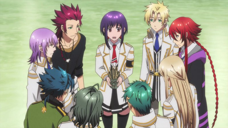 Greek, Nordic and Japanese mythology anime