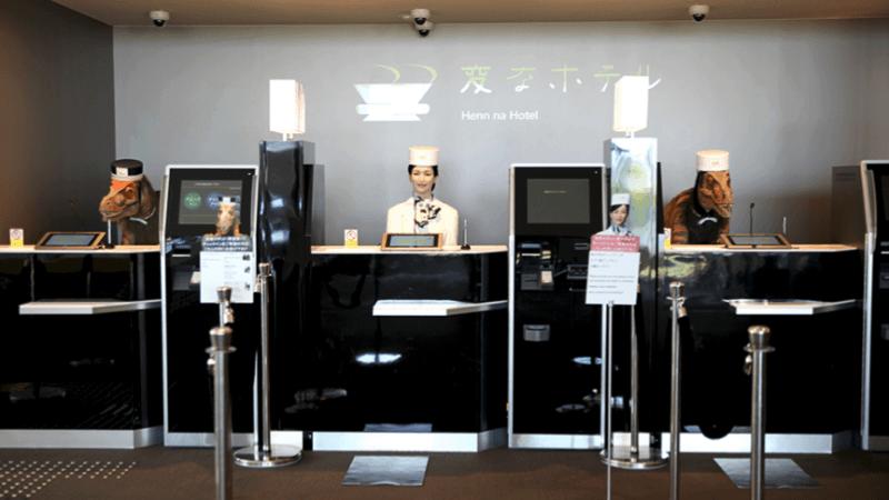 Hotel Henn-na: ¿extraño o revolucionario?