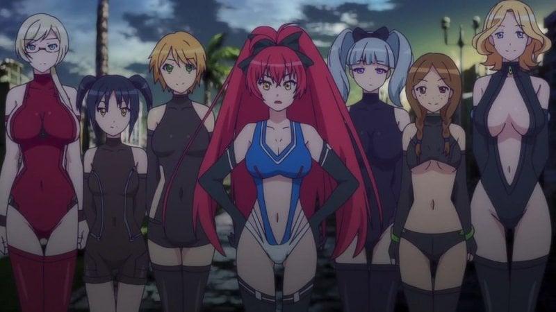 Masou gakuen hxh - animes ecchi