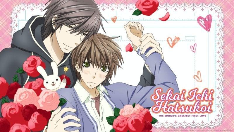 Sekaiichi hatsukoi - animes yaoi
