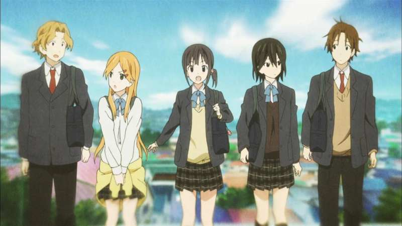 The best school anime + TOP 200 list - kokoro connect 8