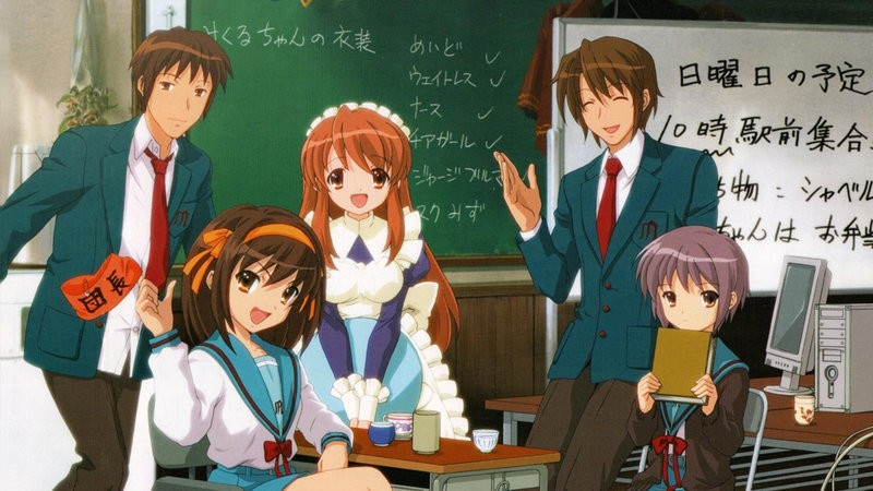 The best school anime + TOP 200 list - suzumiya haruhi 9