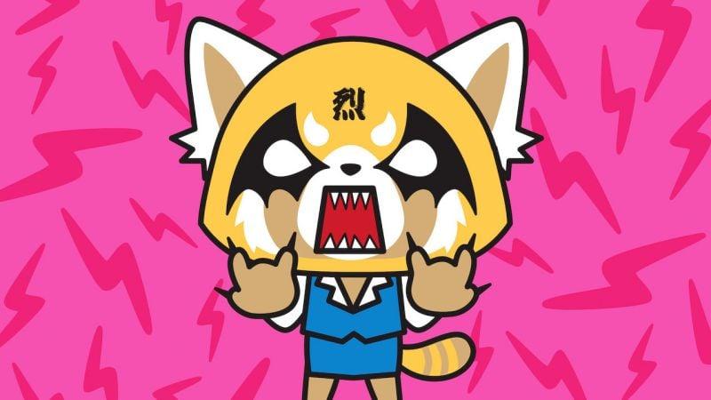 Animes com animais, cachorros e gatos - aggretsuko 7