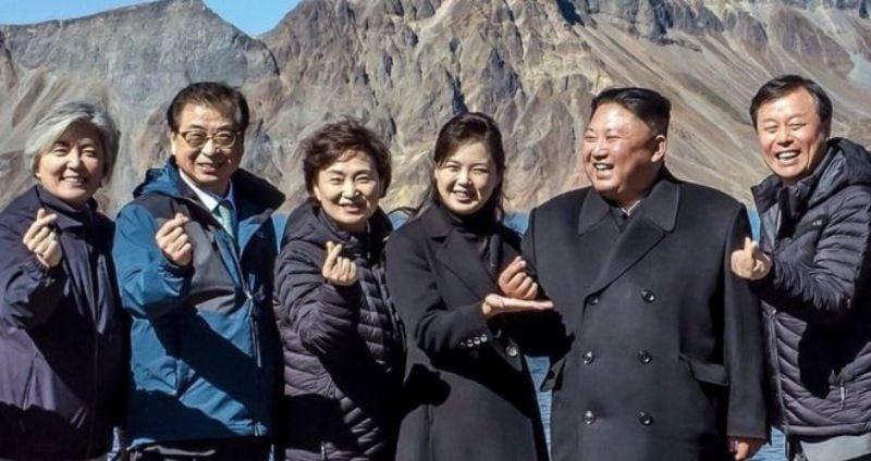 Trái tim Hàn Quốc - cử chỉ và sự tò mò
