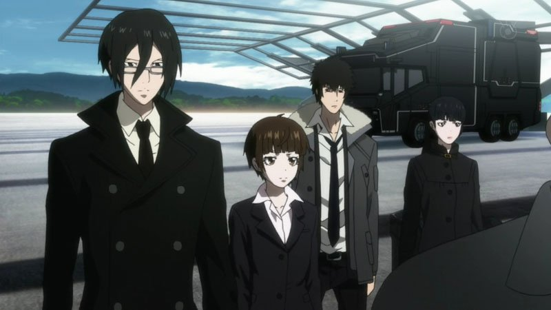 Os melhores animes para assistir na netflix - psycho pass 2