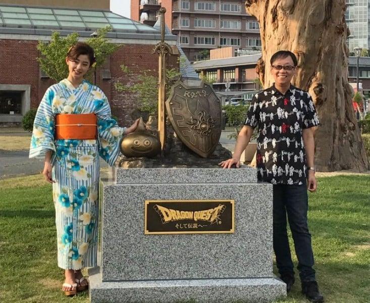 O enorme sucesso de dragon quest no japão