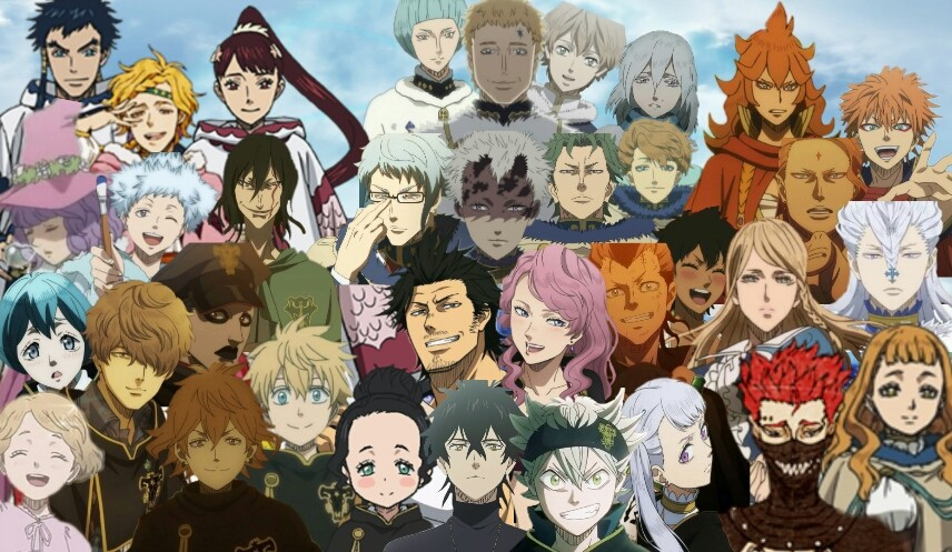 Black clover - curiosities, season, characters and spoilers