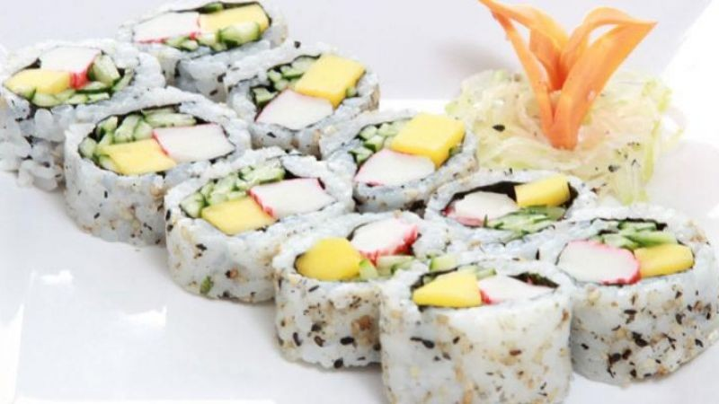 130 tipos de sushi – urumaki, hossomaki, nigiri