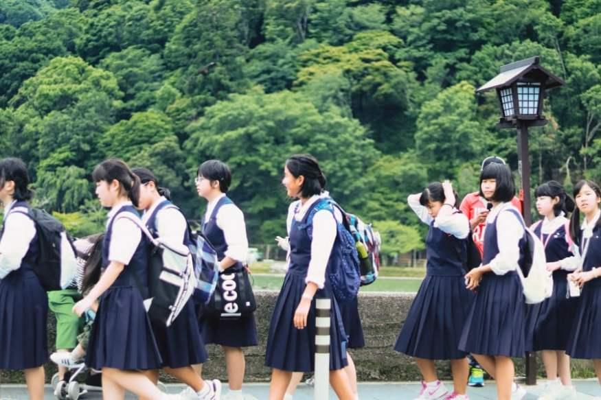 Situação atual e questões sobre educação no japão