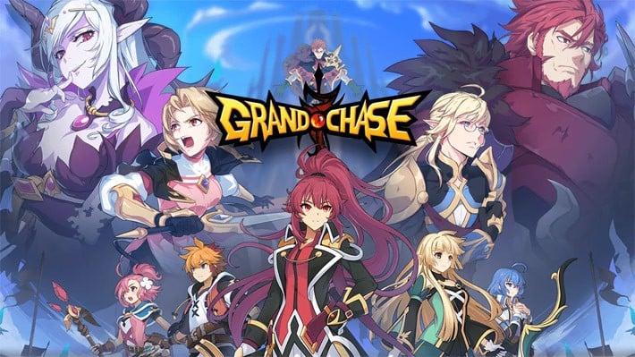20 melhores jogos de animes para celular - grand chase mobile
