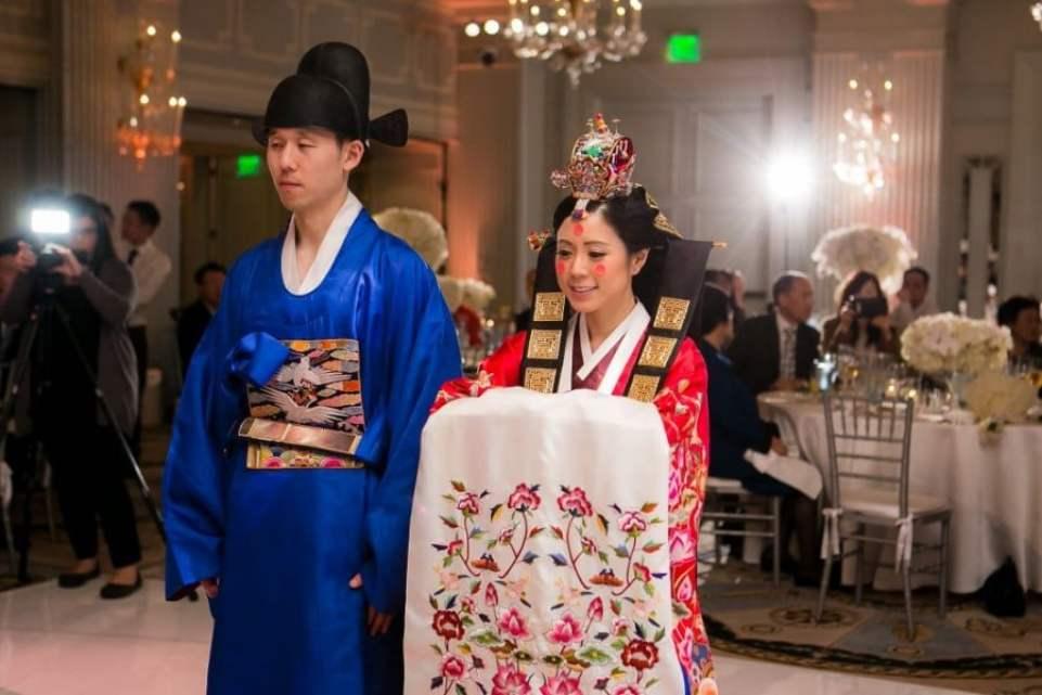 9 curiosidades do casamento sul-coreano - cerimonia korrea