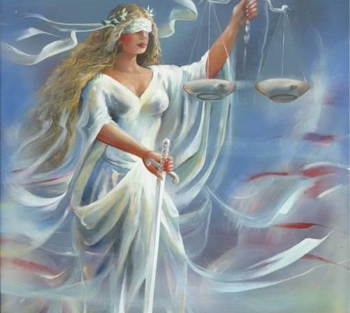La justicia by Fransisco Garcia