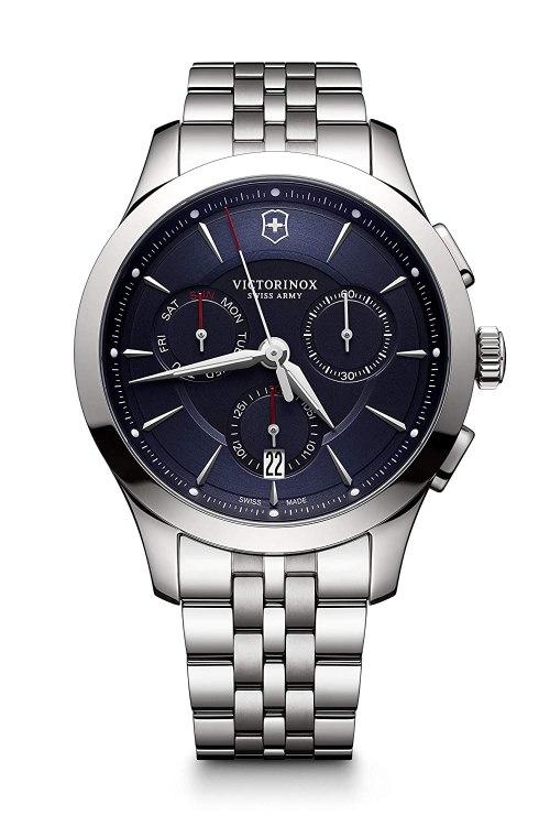 Victorinox Swiss Army Victorinox Alliance Black Dial Men's Watches-241746