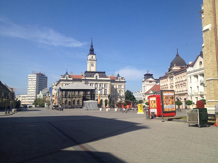 Liberty Square, Novi Sad
