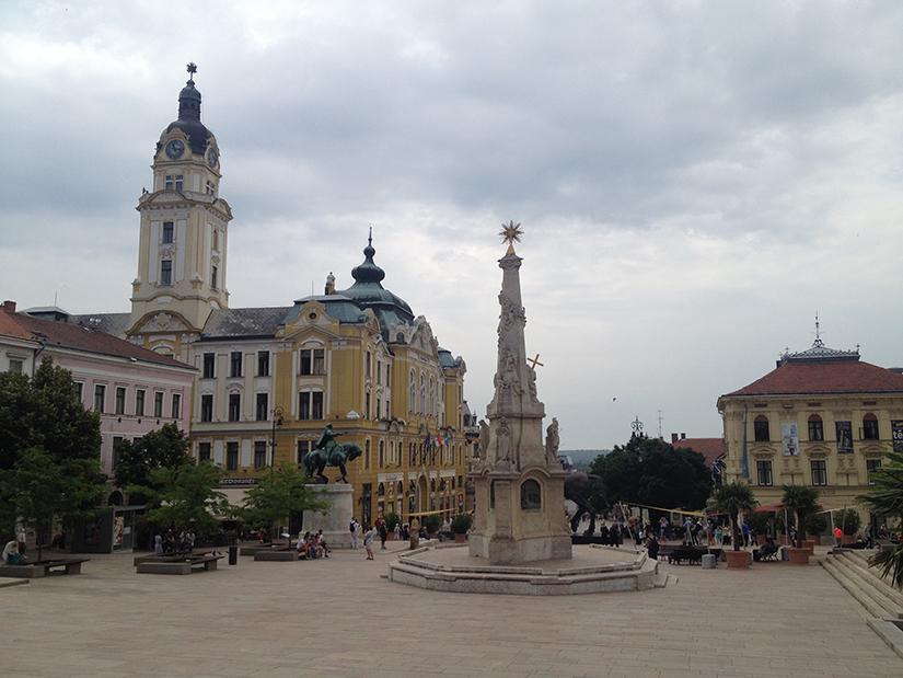 Pecs Main Square