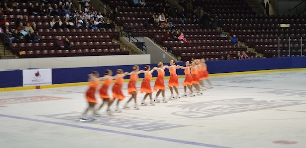 Skaters sync up in Mississauga for nationals