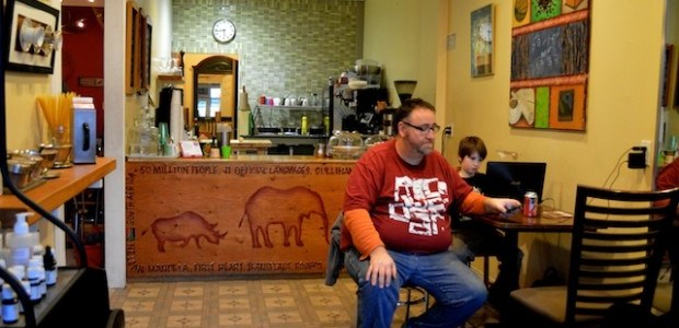 Café owner happy to see competition