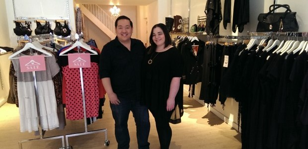 Toronto couple's take on plus-size fashion