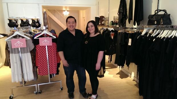 Toronto couple's take on plus-size fashion