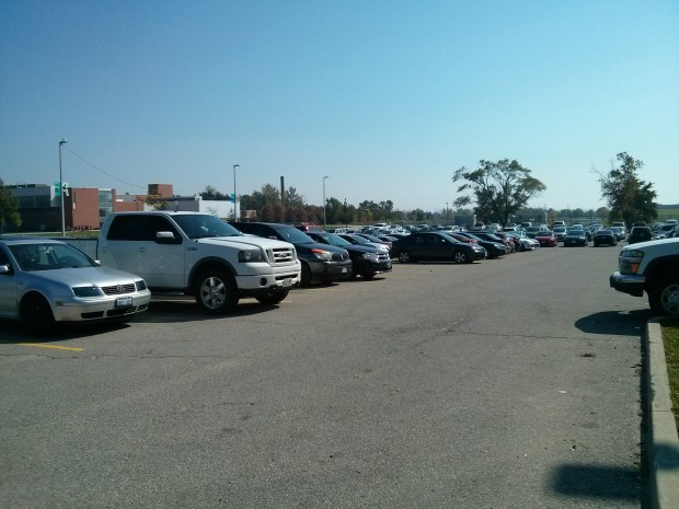 Students want more parking options on campus