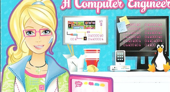 Computer engineer Barbie book stirs up controversy