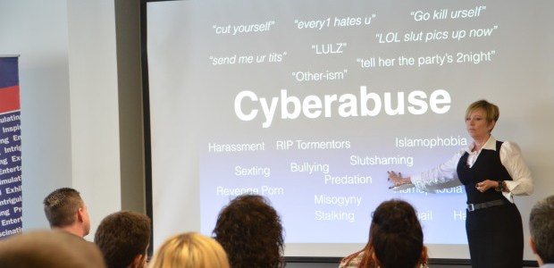 Paula Todd educates Humber students about cyber bullying