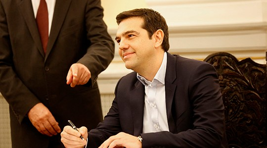 Greece swears in new Prime Minister