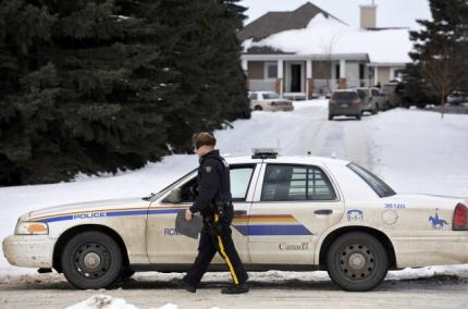 Suspect in RCMP officer shooting found dead