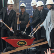 Humber and PCL breaks ground for Wellness Centre