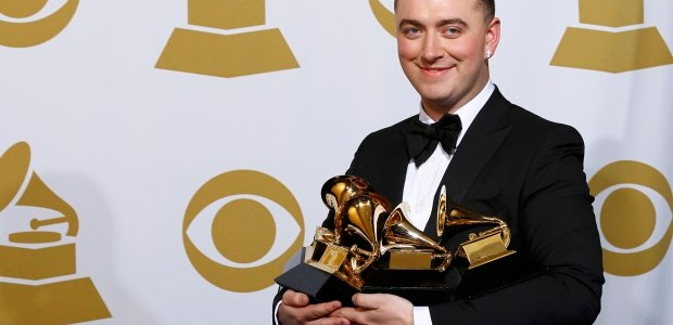 Sam Smith cleans up with four Grammy wins