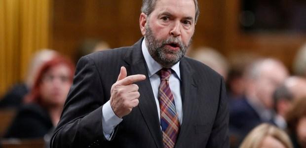 Mulcair unwilling to reject anti-terrorism bill despite concerns
