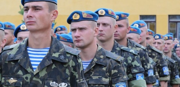 Ukrainian military to increase by a third