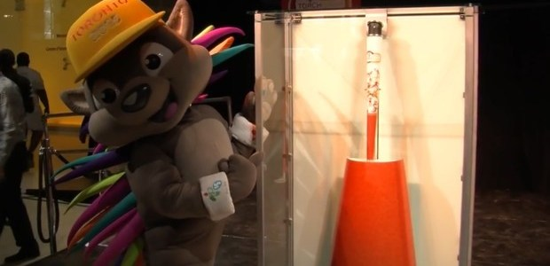 Whitfield breaks down science of Pan Am torch bearing