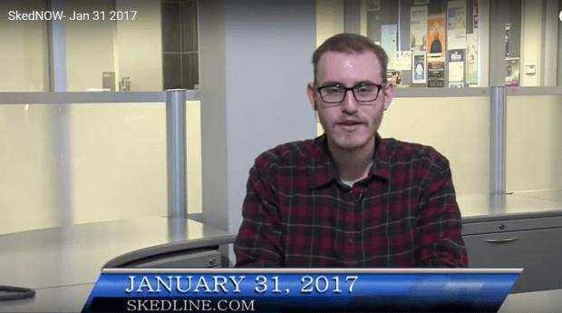 SkedNow: January 31 with Sam Ladan