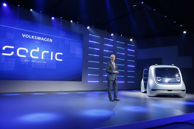 Volkswagen to unveil self-driving car as part of post-dieselgate shift