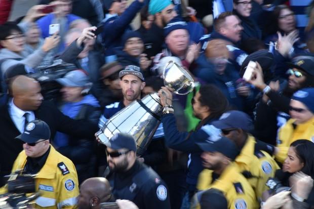 Toronto Celebrates Grey Cup Win