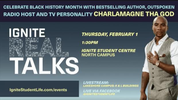 Charlamagne Tha God talks Grammys, 'Black Privilege' and more at Humber