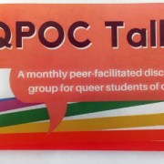 LGBTQ+ Resource Centre Presents: QPOC Talk