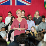Wynne appeals to Ontario youth: Get out and vote
