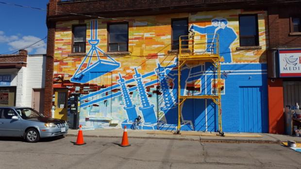 Brand New Mural at Lakeshore