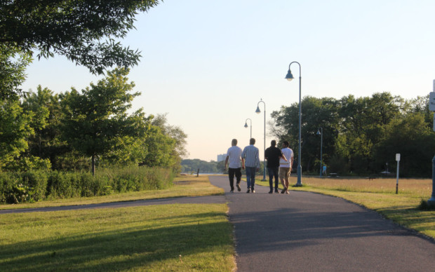 Colonel Samuel Smith Park offers more than just a nice walk
