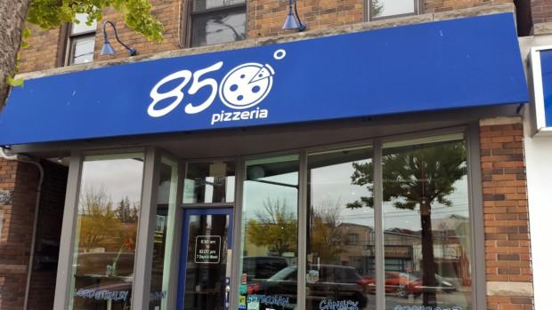 850 Degrees Pizzeria a cheap lunch option