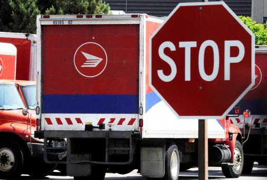 Back to work for Canada Post
