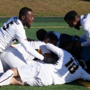 Hawks men's soccer wins fourth straight championship