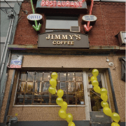 Jimmy's trendy café brightens Mimico
