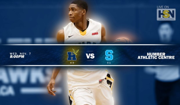The Rivalry Continues Tonight. Humber Men's Basketball team face Sheridan.
