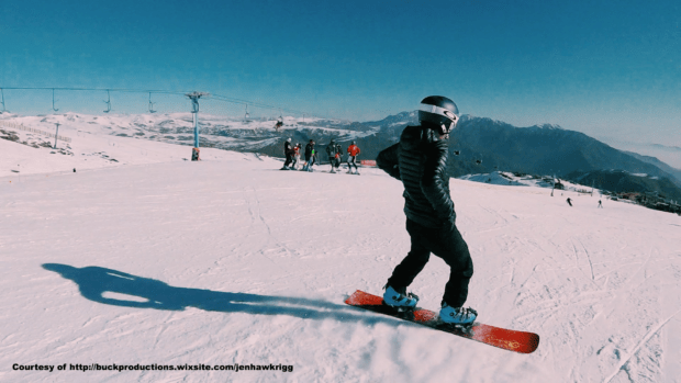 Snowboarder 'JJ' Hawkrigg named athlete of the month
