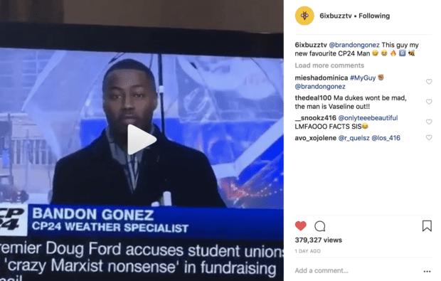 Brandon Gonez hits Toronto with a dutty newscast | Skedline