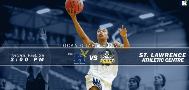 Humber women's basketball team set for quarter-final game